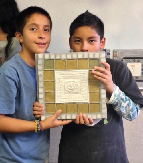 Davidson Middle School Fall 2013 Mosaic Project (11).JPG
