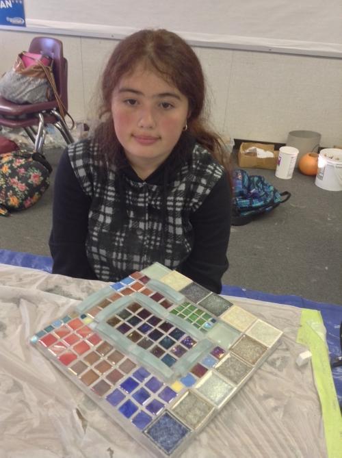 Davidson Middle School Fall 2013 Mosaic Project (22).JPG