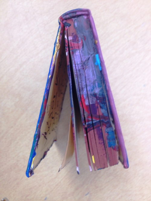 Bayside MLK altered books group B Spring 2014 (25).JPG
