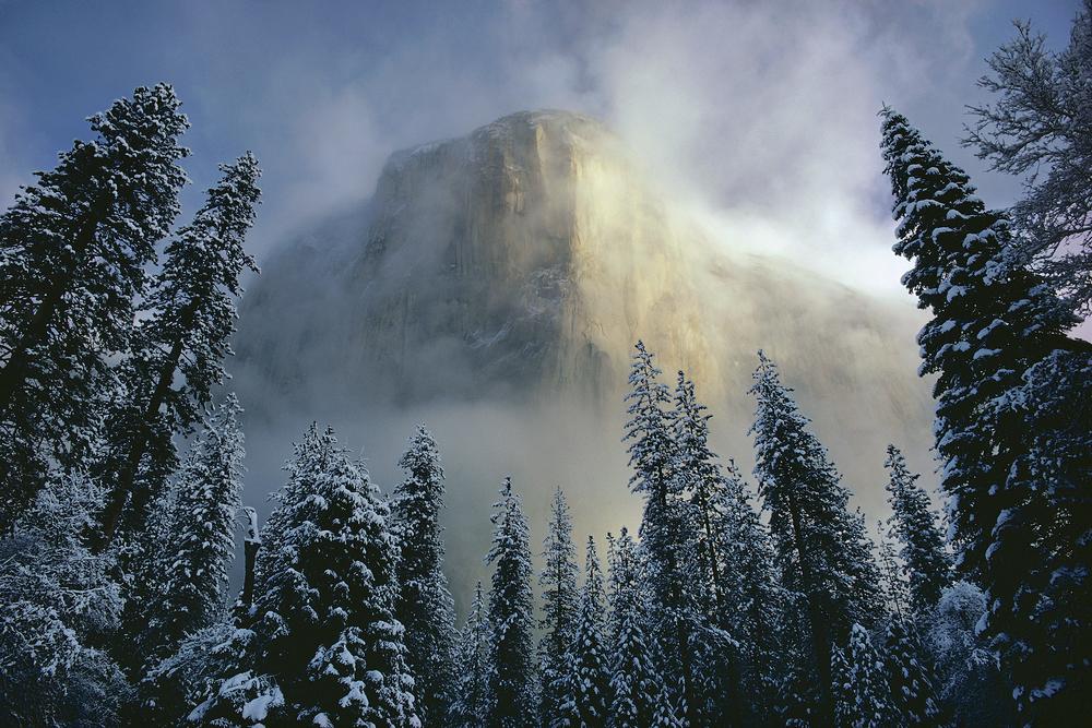 Clearing Storm Over El Capitan, Yosemite, California