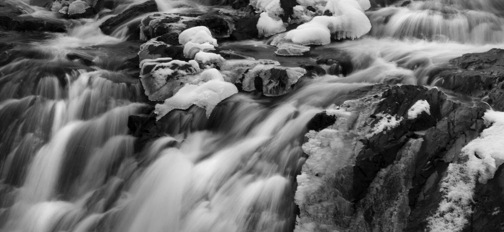 Cocheco Falls - Winter