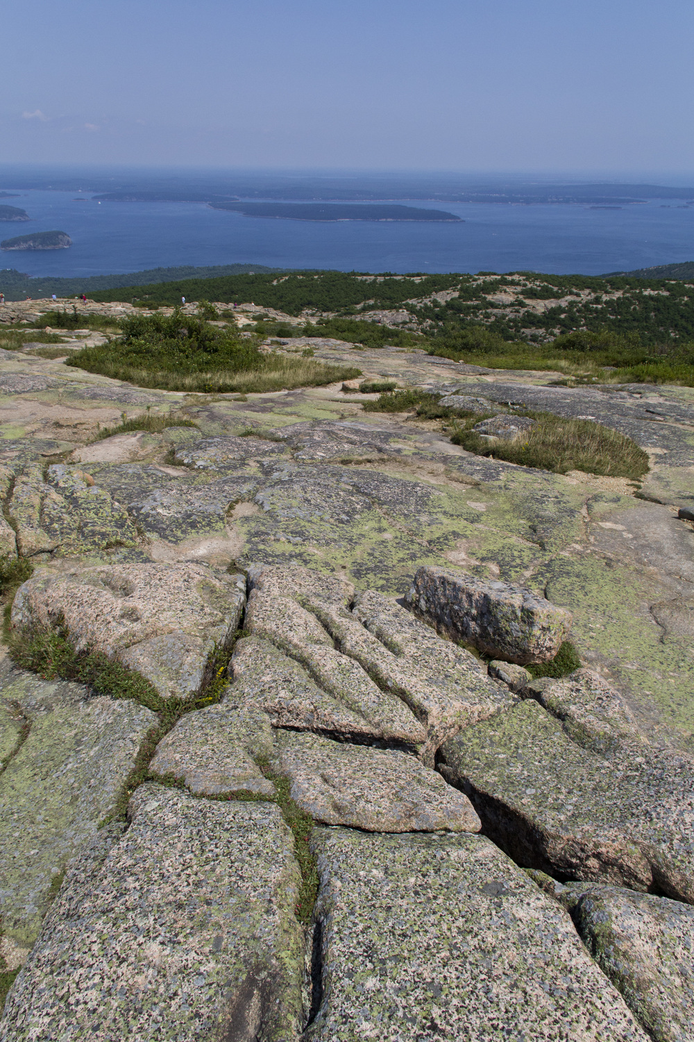 Summit of Cadillac Mountain - Acadia National Park