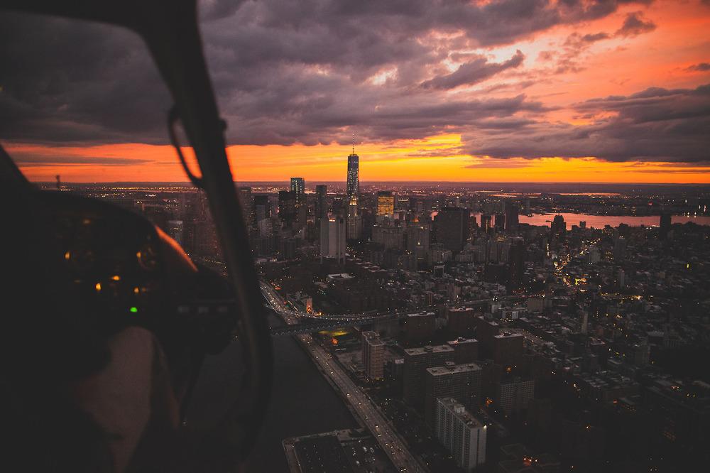 NYonAir : Sunset