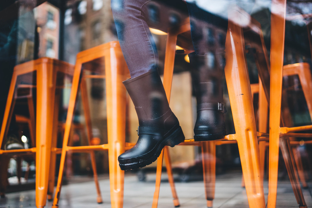 Commissioned by Hunter Boots in providing content images of brand in NYC