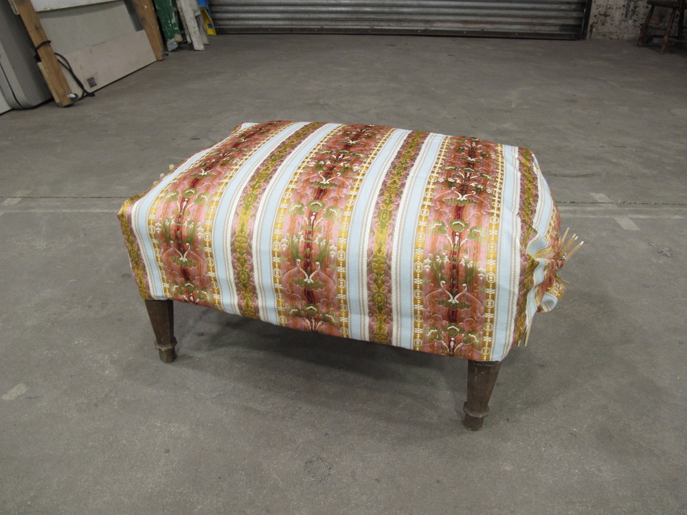 Upholstered Foot Rest $60