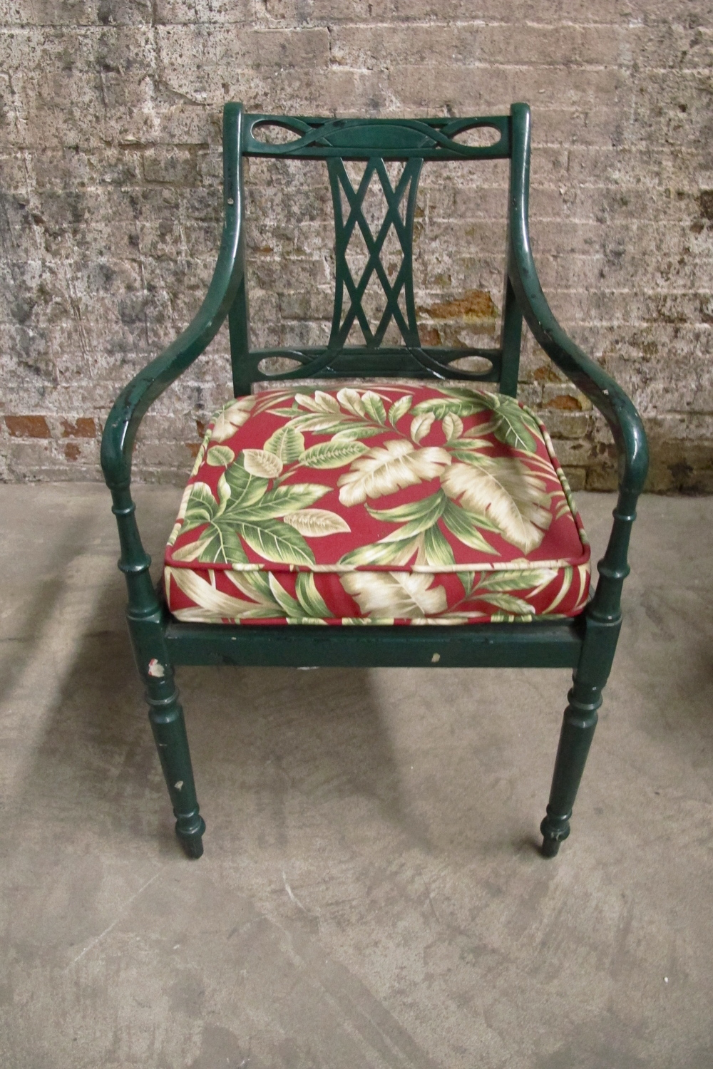 Green Cabana Chair $75