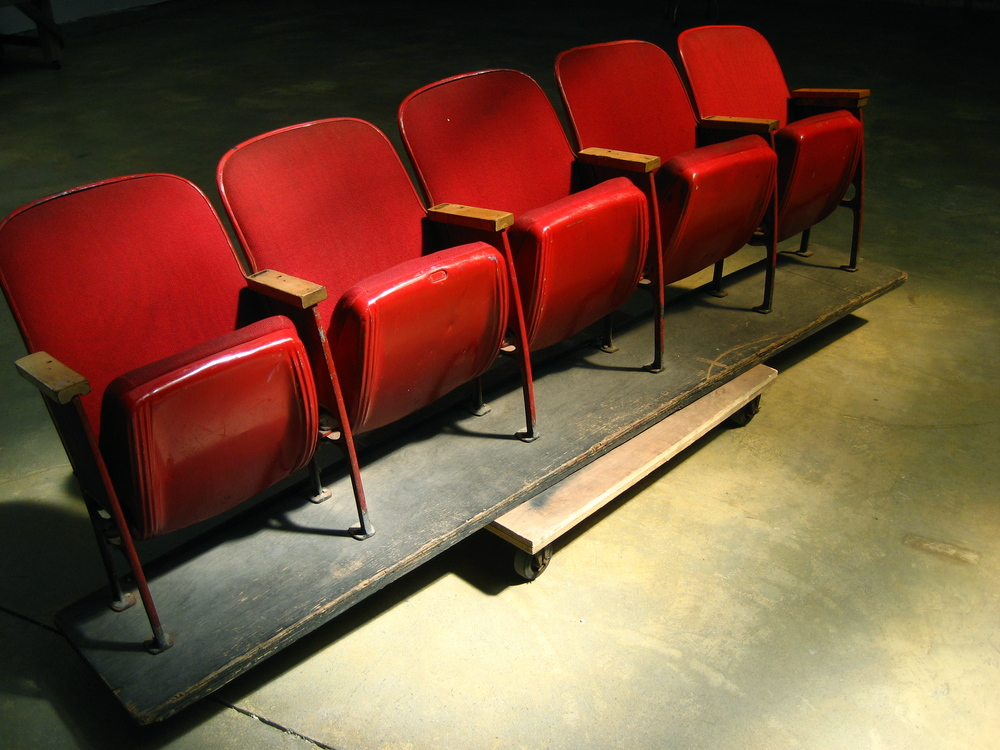 Red Theatre Seats $300