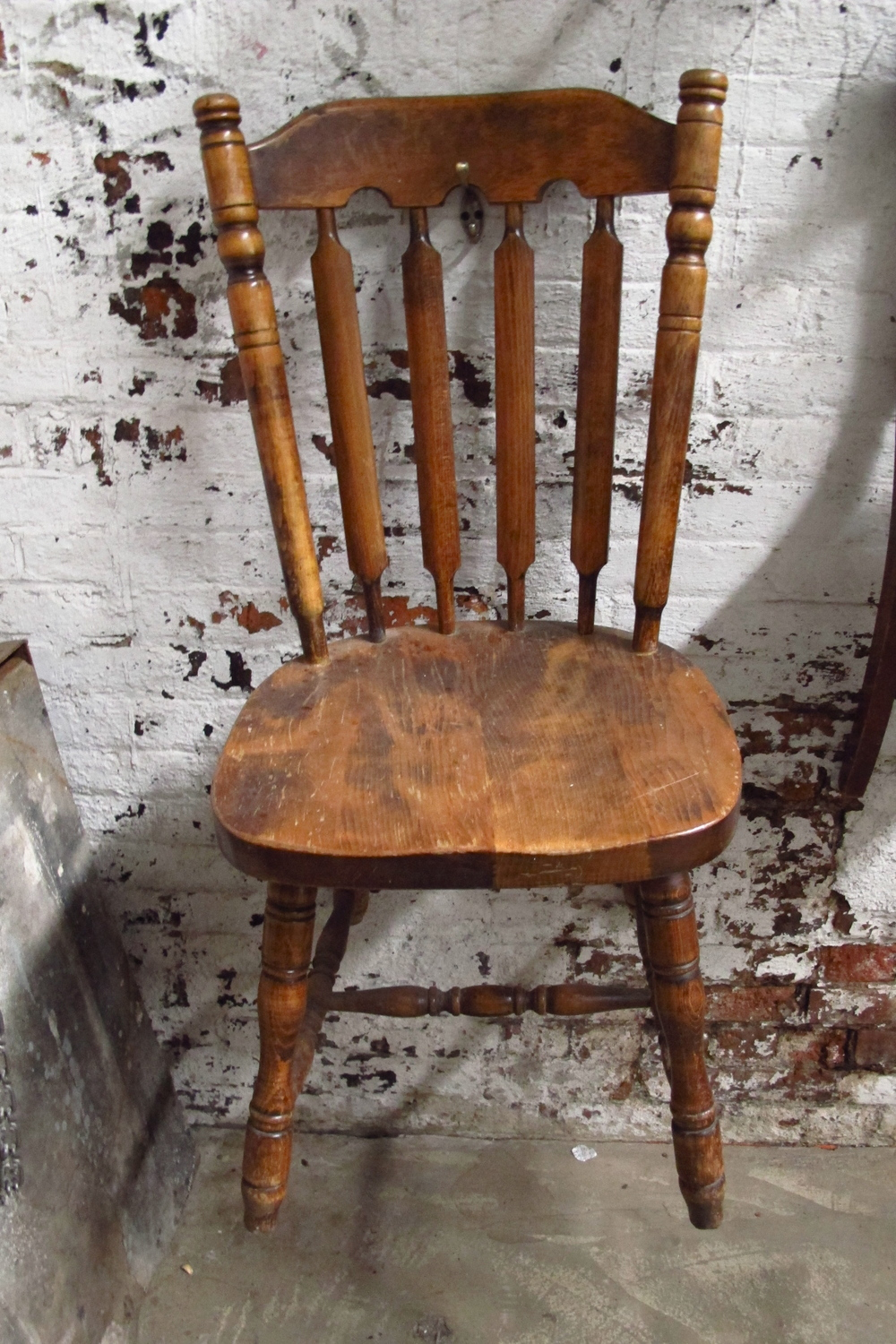 Wood 'Fancy' Kitchen Chair $30