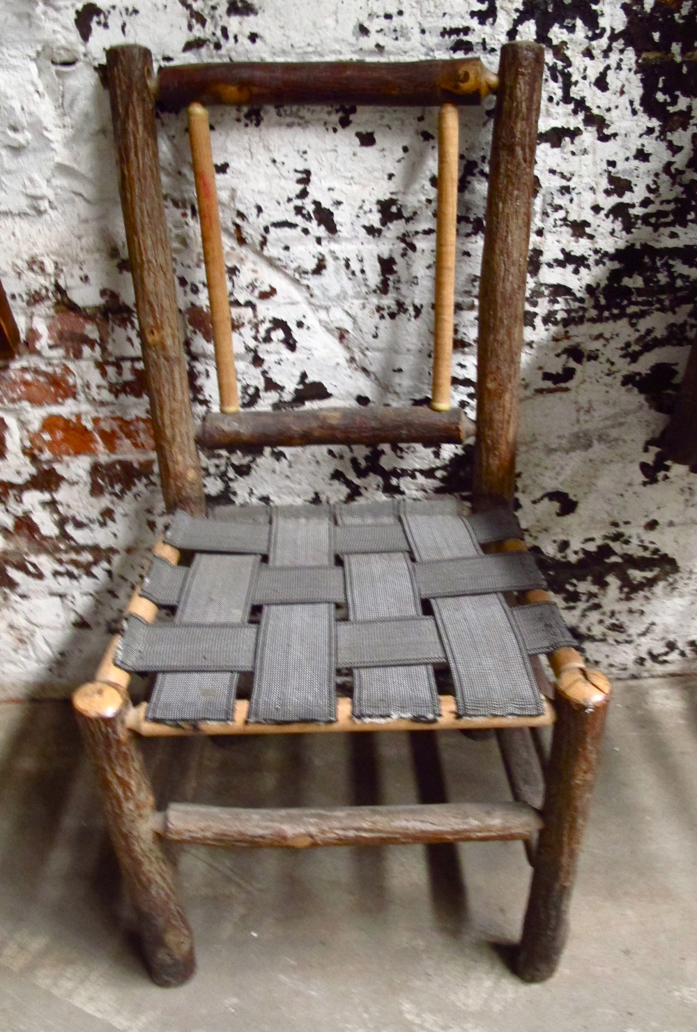 'Gretel' Weave Seat Wood Chair $30 ('Hansel & Gretel' pair)