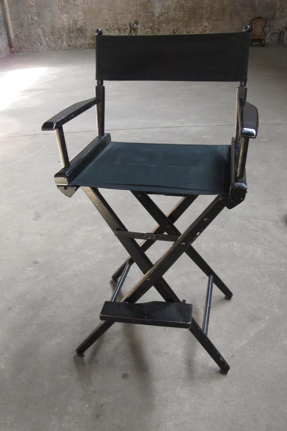 Black Tall Director's Chair $60