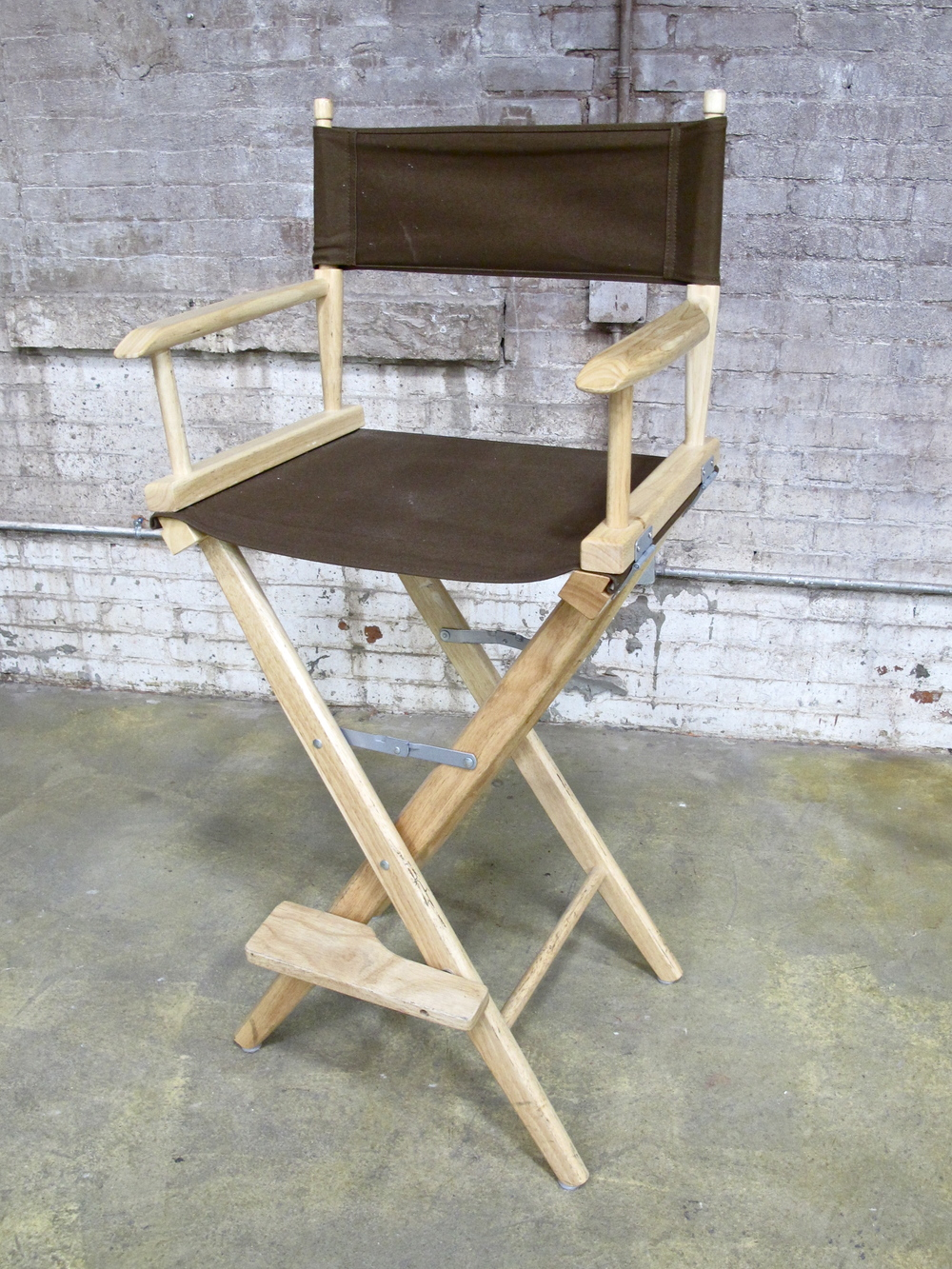 Brown Tall Director's Chair $40