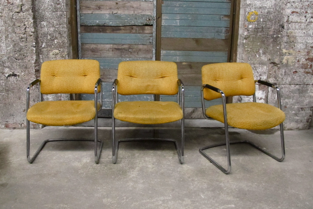 Yellow Waiting Room Chairs (3) $30/ea
