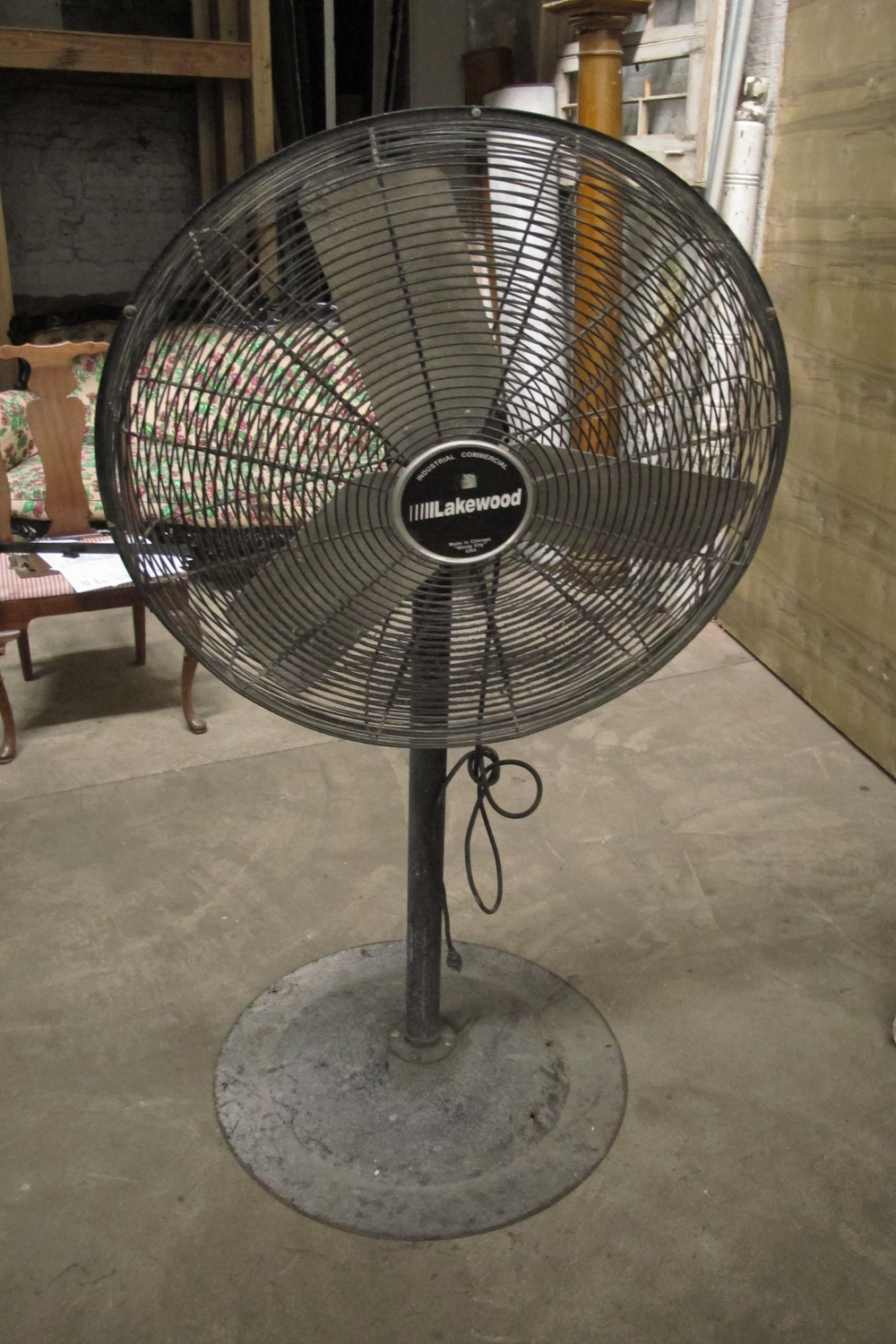 """Lakewood"" Commercial/Industrial Metal Fan $100"