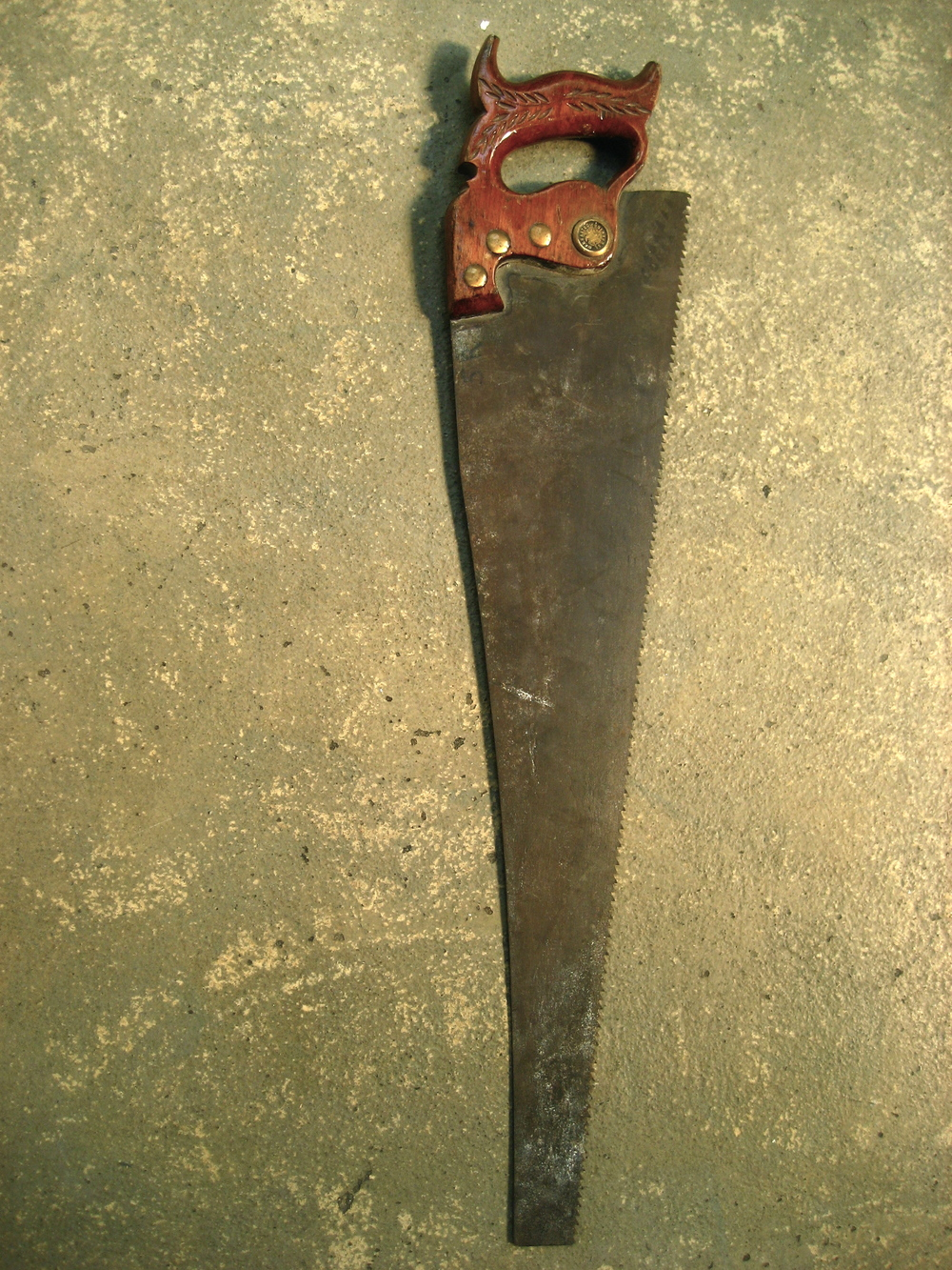 Ornate Handled Saw $50