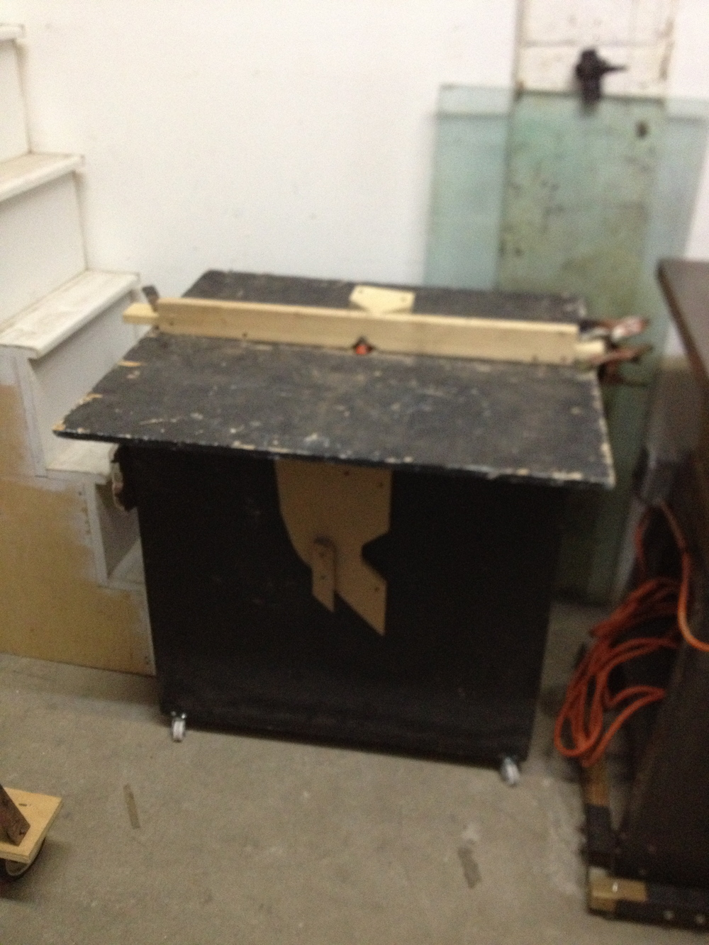Black Router Table $100