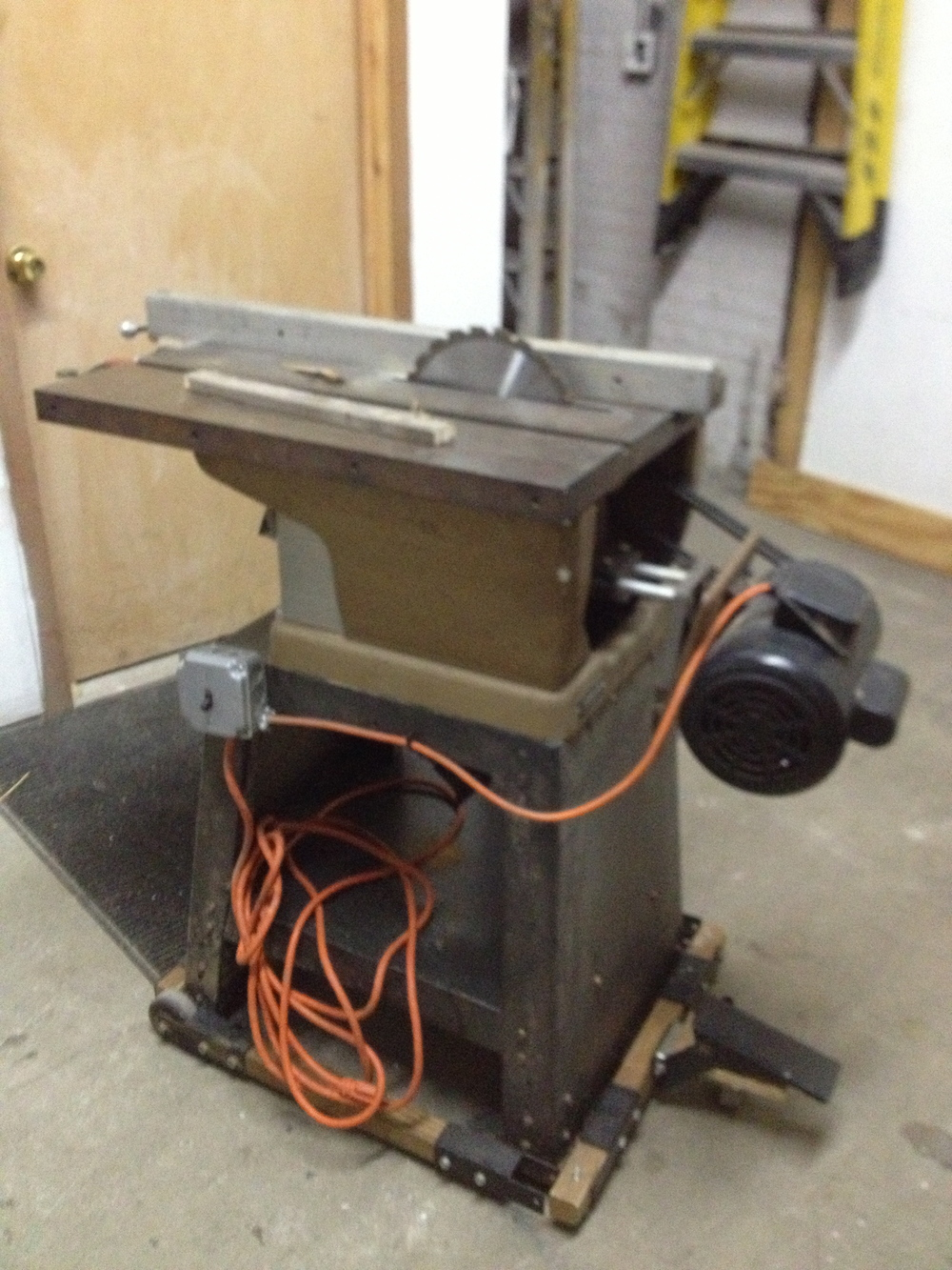 Sears Craftsman Table Saw $100