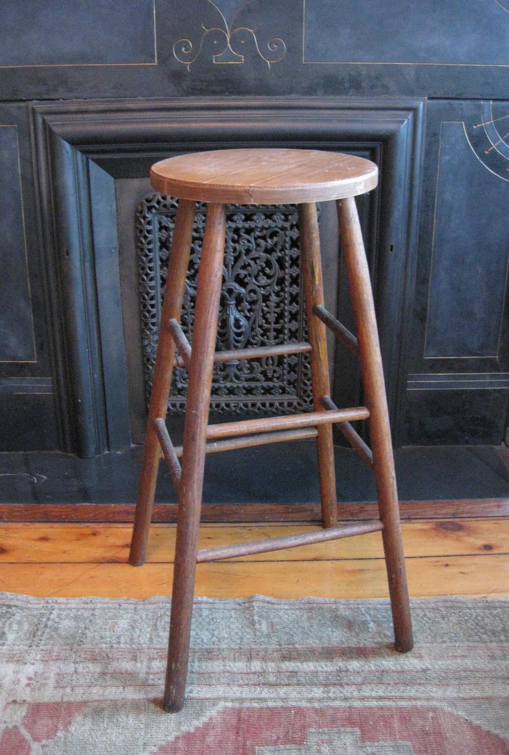 RSS Classic Wood Stool $60