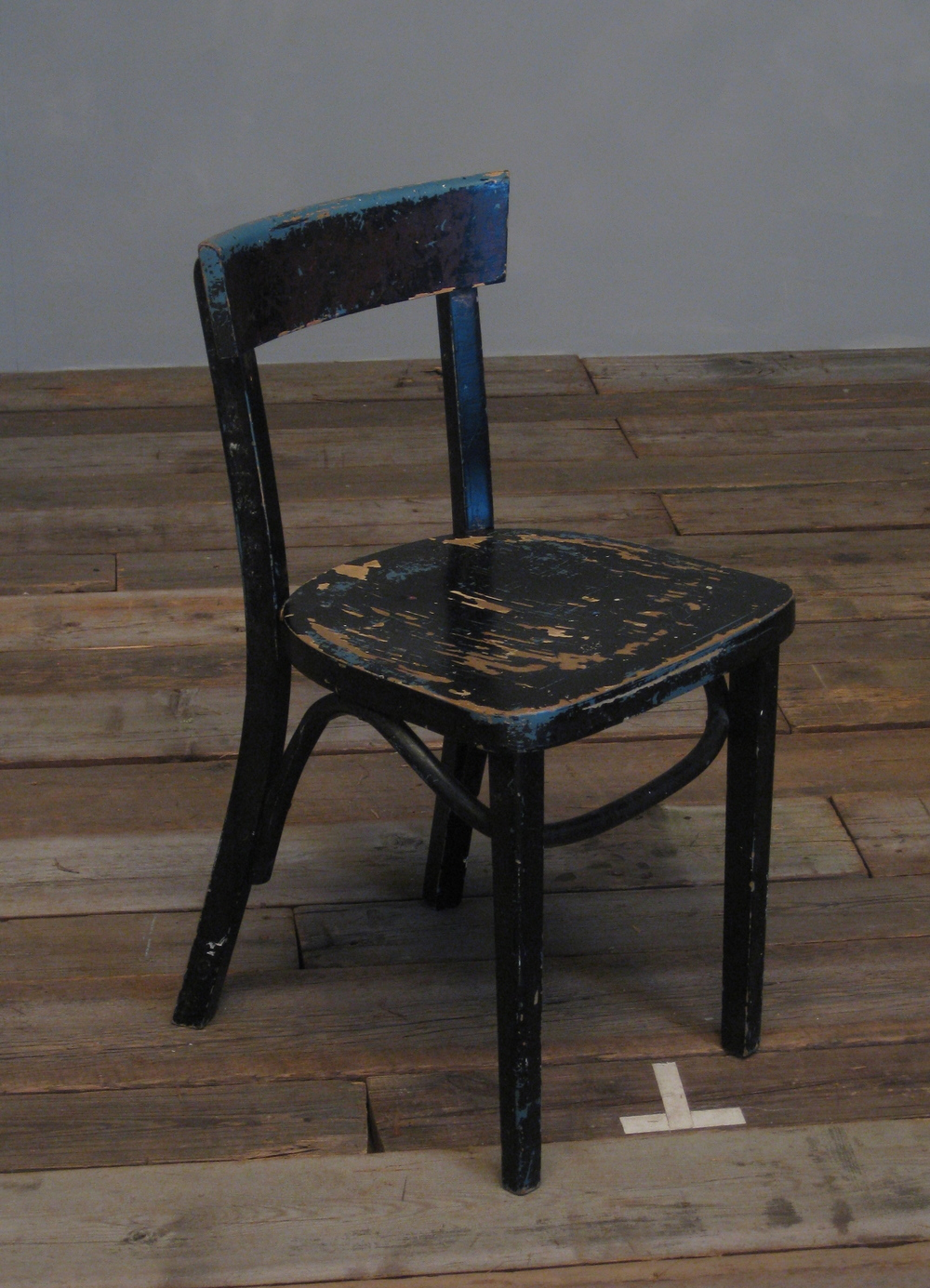 Distressed Cafe Chair $60