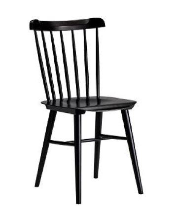 DWR Black Chair $60