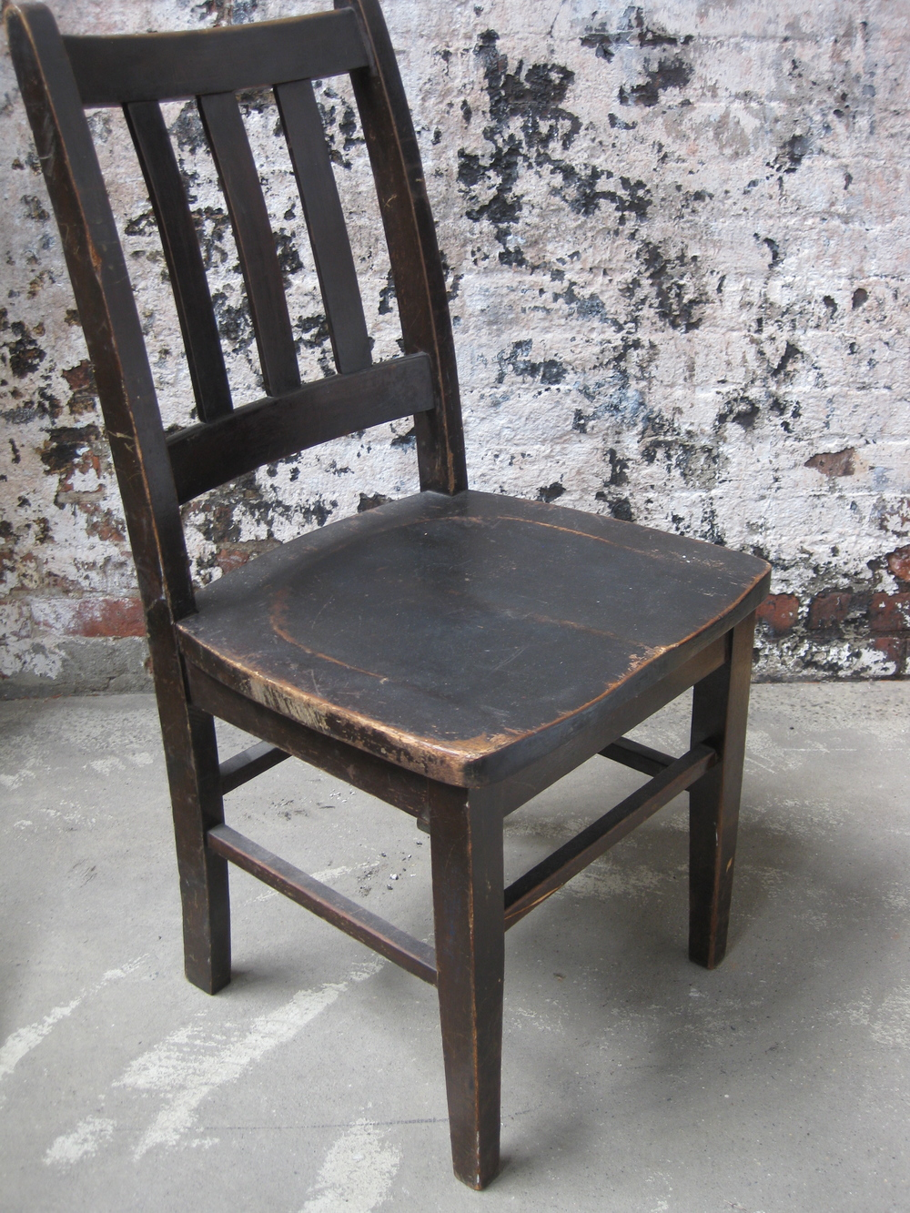 Antique Wooden Chairs ~ Wood seating — primate props