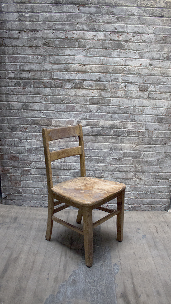 Wood Block Chair