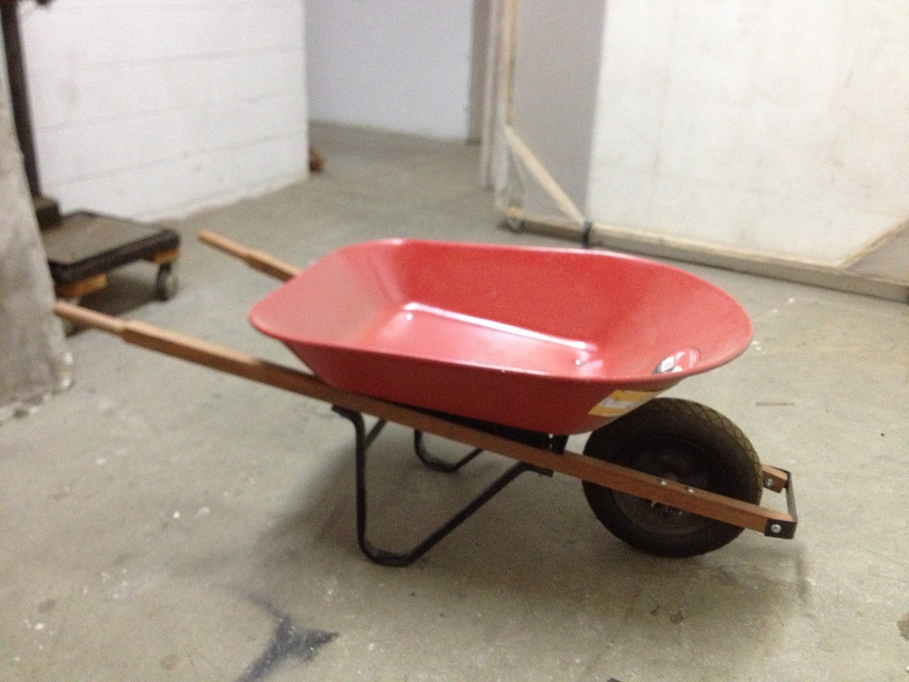 Red Wheelbarrow $60