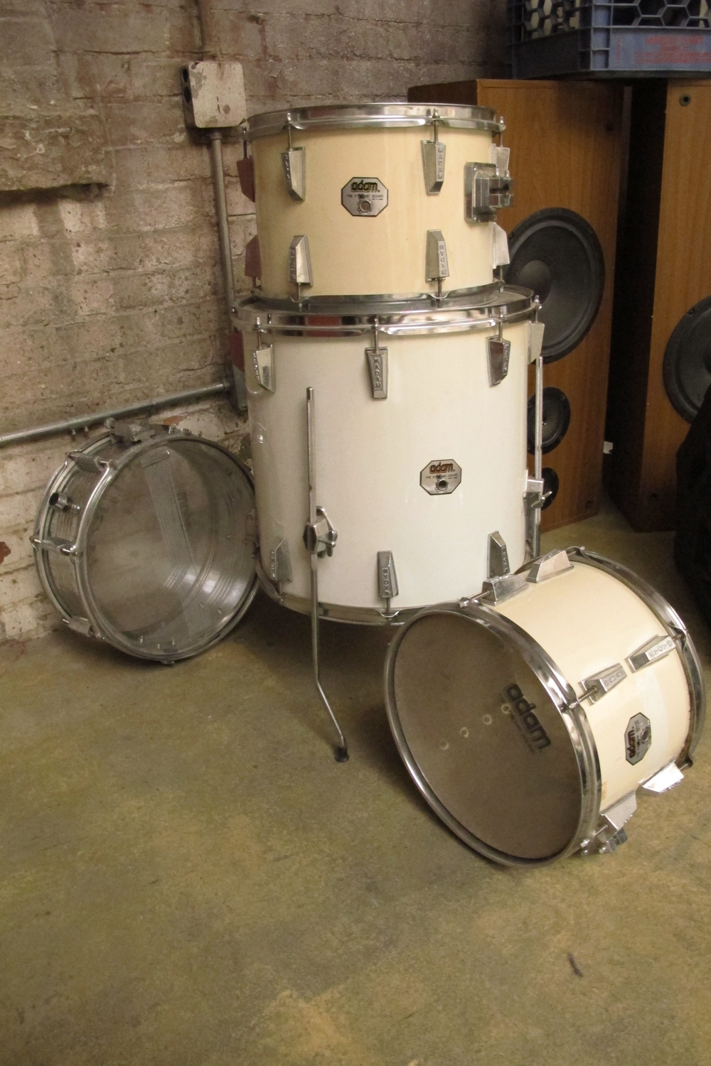 White Drums $75