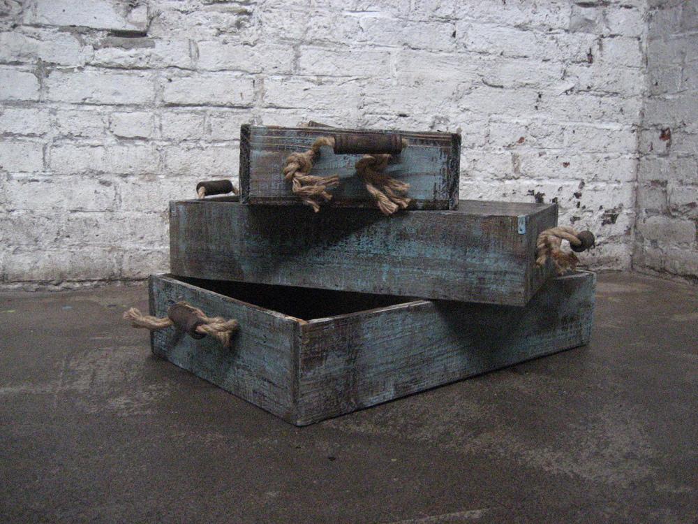 Aquamarine Nesting Boxes (2)$10/ea