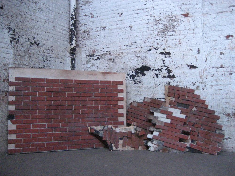 Faux Brick Wall Portions $30-$90/ea