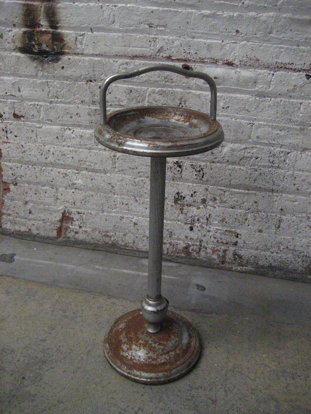 standing Metal Ashtray $40