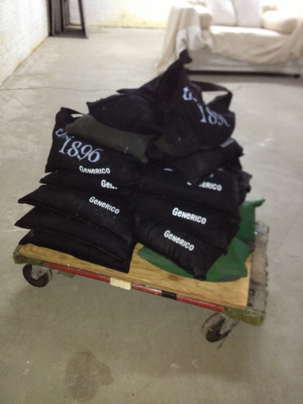Black Sandbags $5/ea