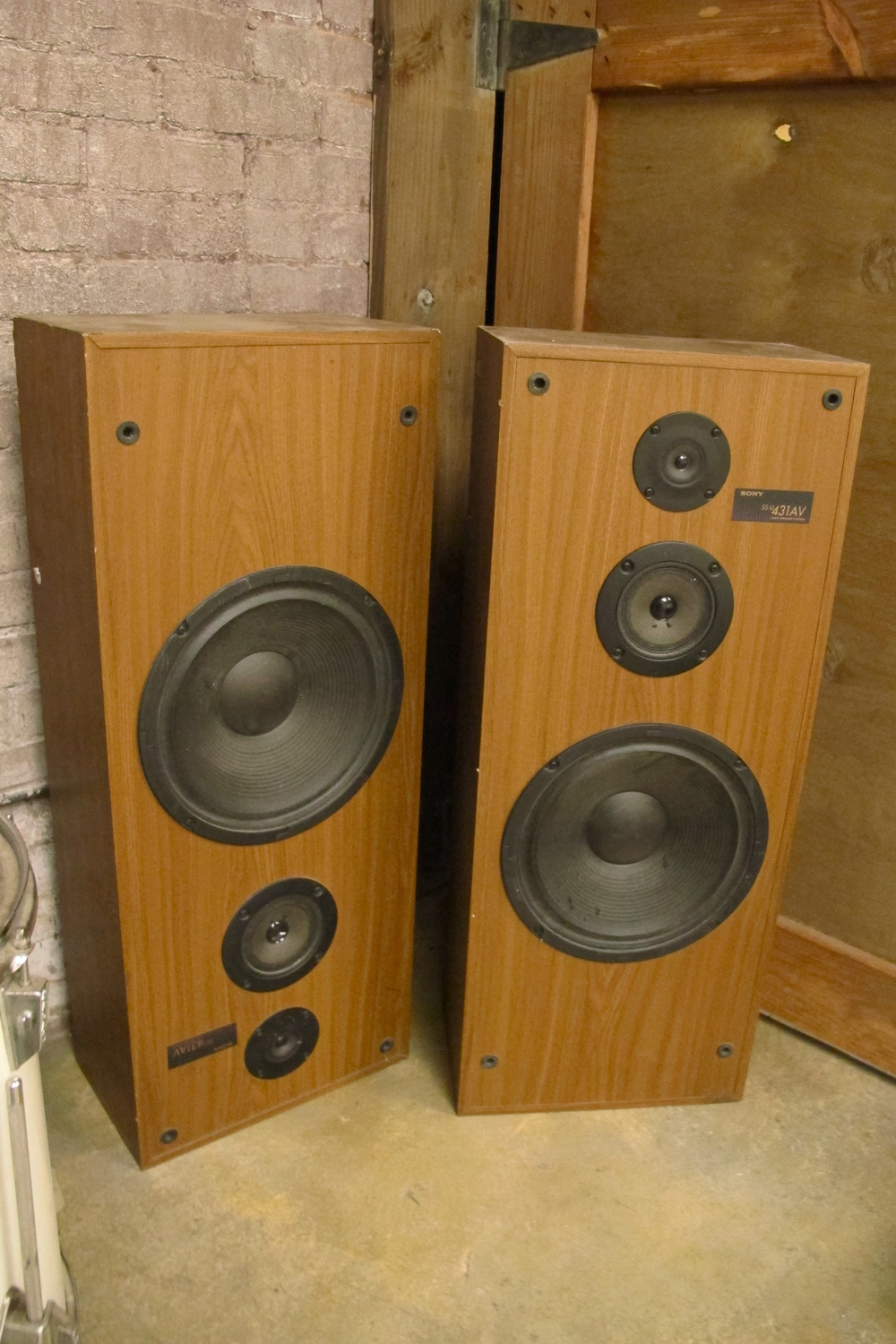 Wood Speakers $50/ea