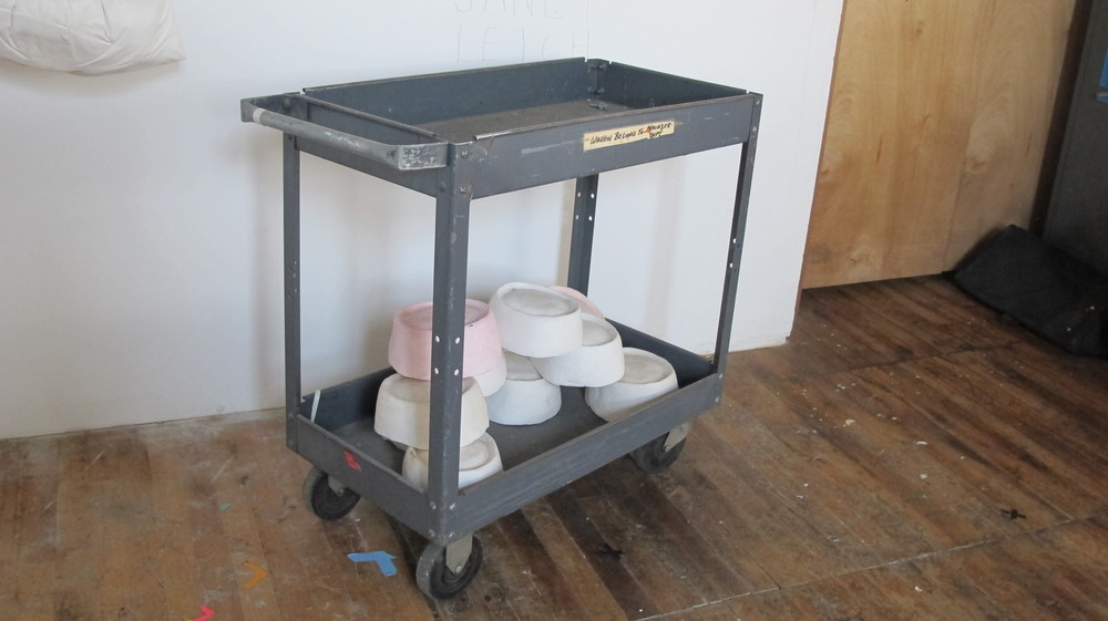 Grey Tool Cart with handle $60