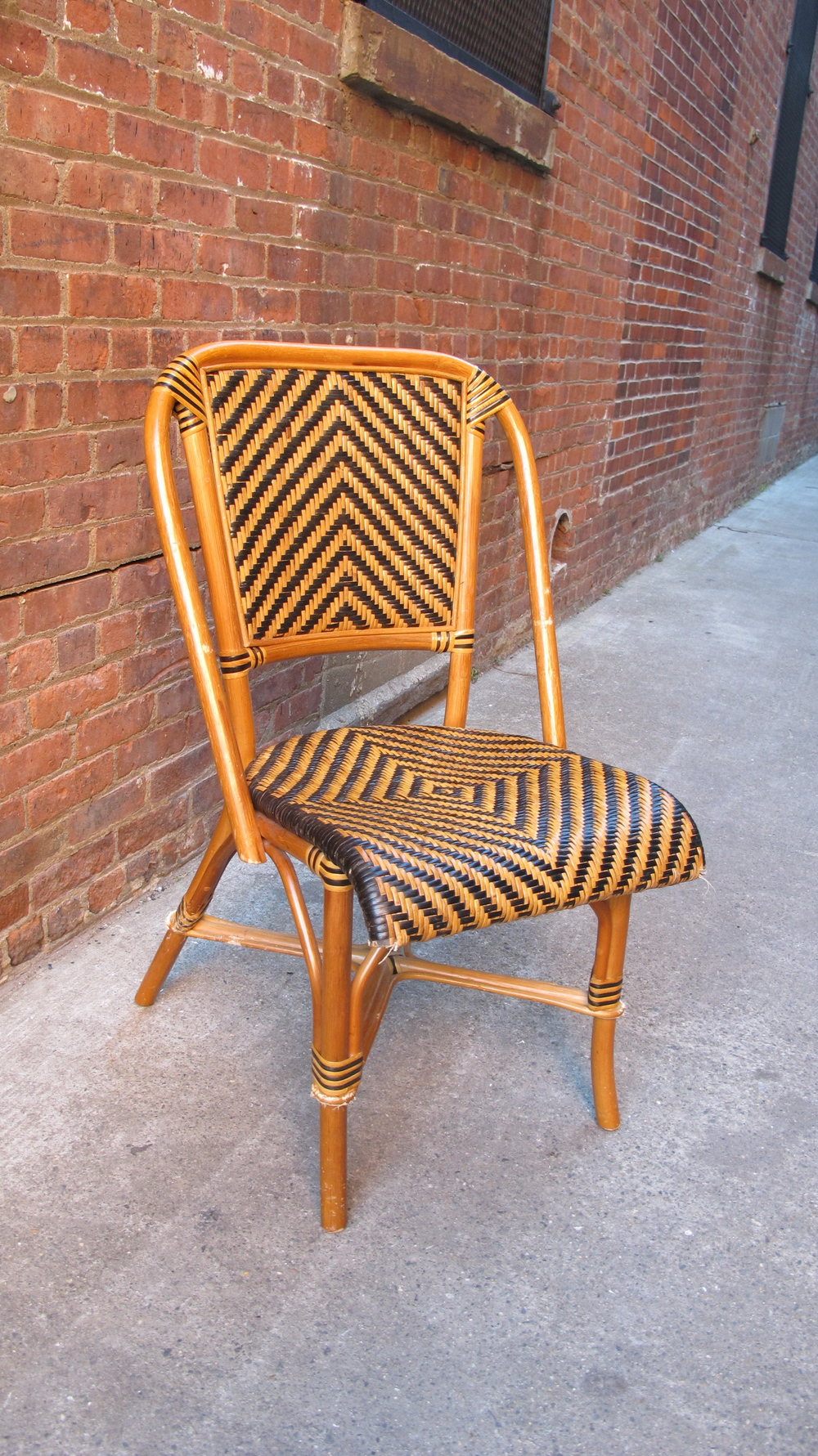 Woven Stripe Chair $50