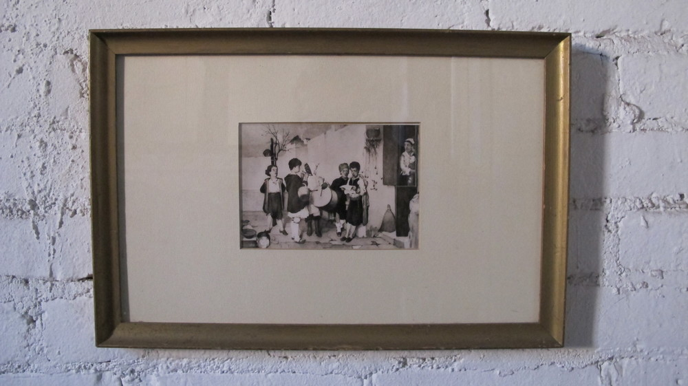 Framed Child Musicians