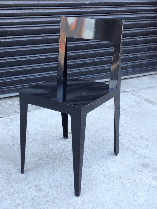 Black Metal Ligne Roset $175