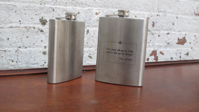 Texas Flasks $5/ea