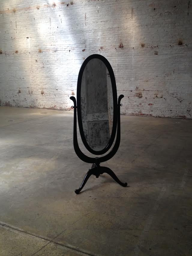 Pivoting Full Length Mirror $70