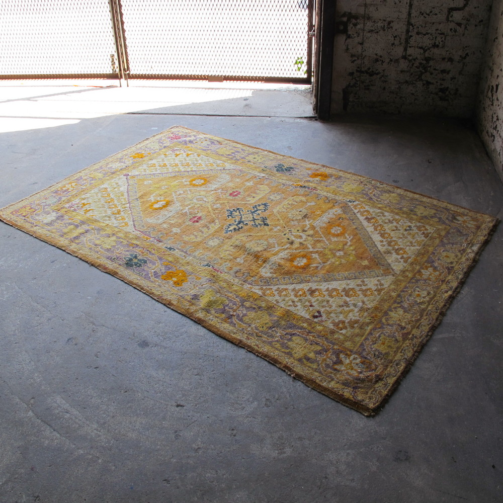 Warm Yellow Rug $200