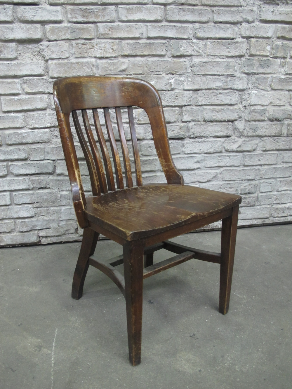 Armless library chair $50