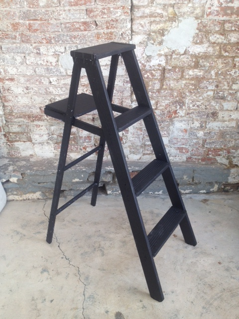 Matte black 4' ladder