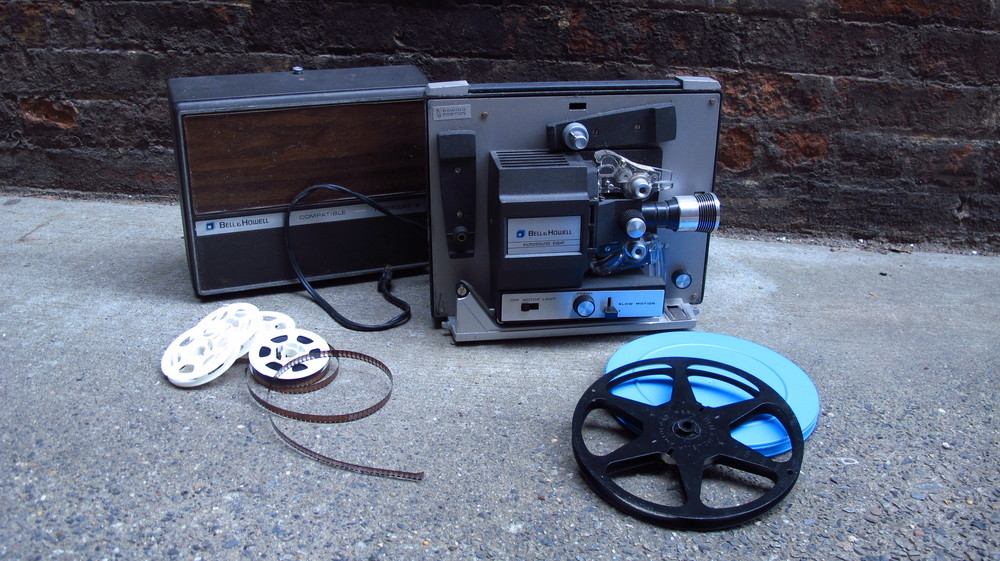 Projector and Reels $45