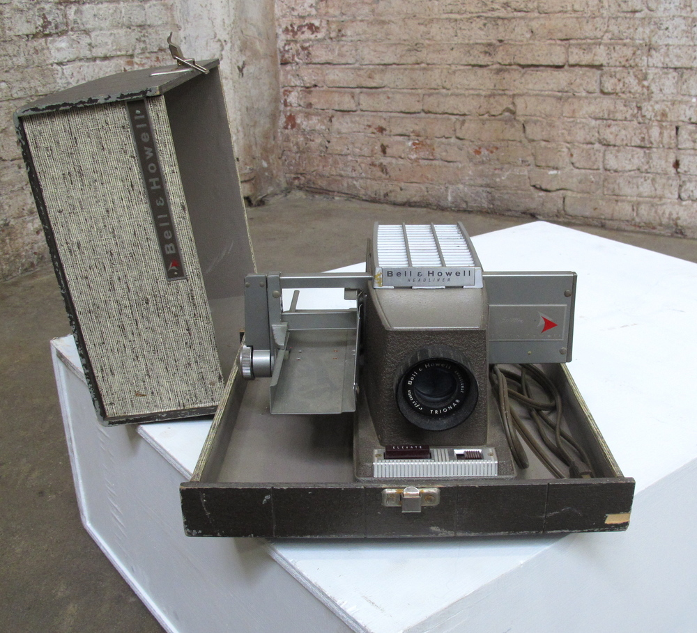 Bell and Howell Slide Projector $60