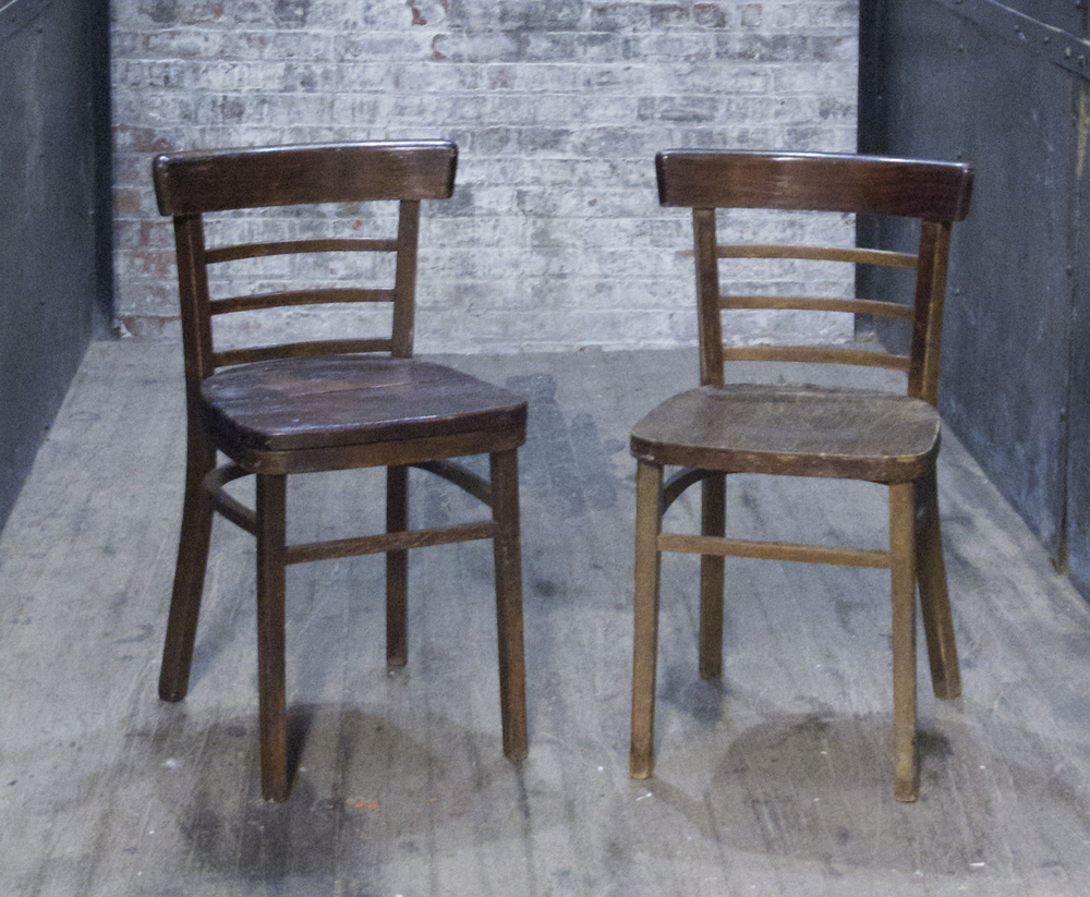 (1) Wood Parlor Chairs $30/ea
