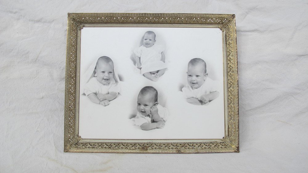 Baby Photos in Frame
