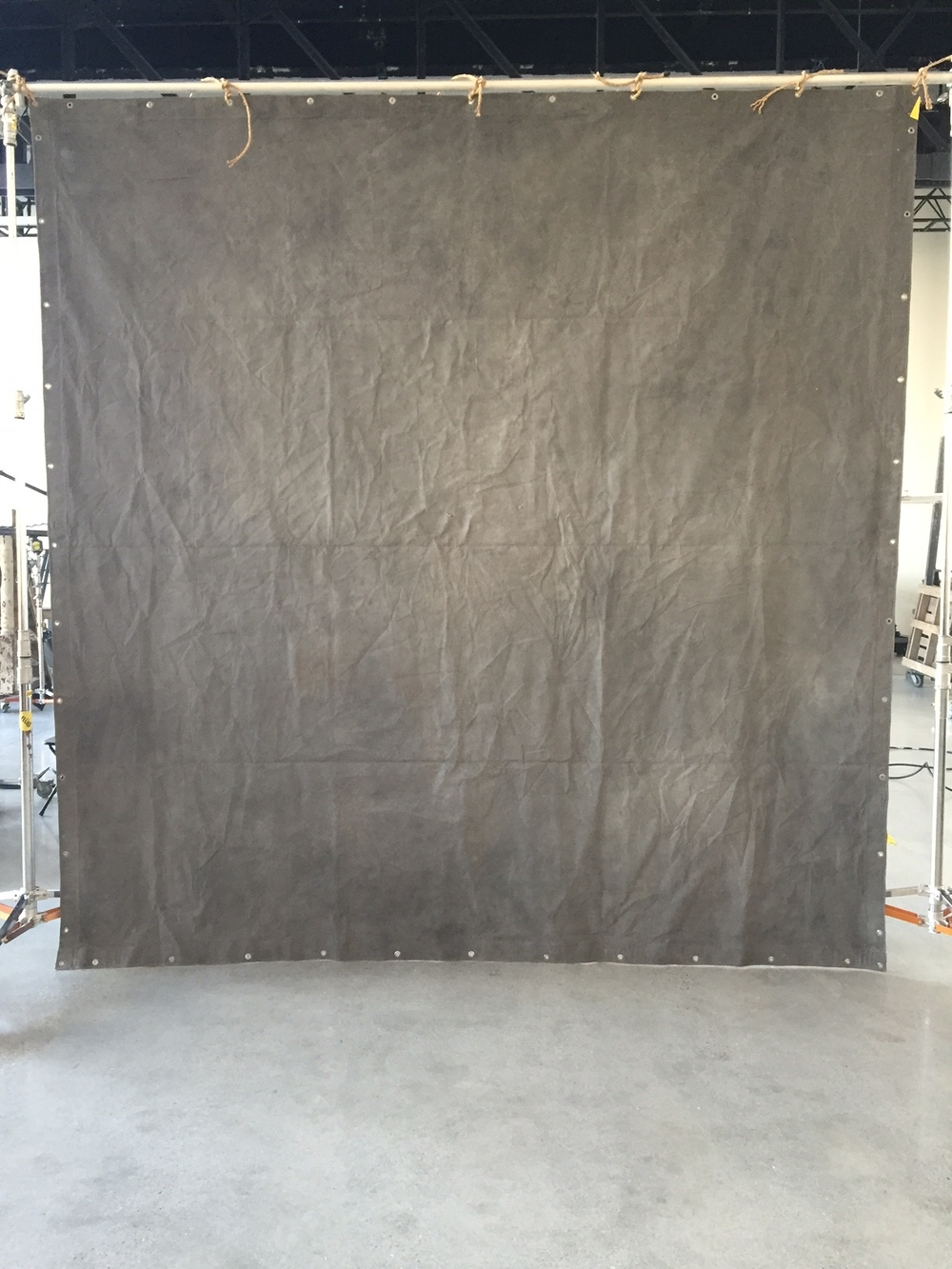10.5' x 11' Grommetted backdrop - side 2 $300