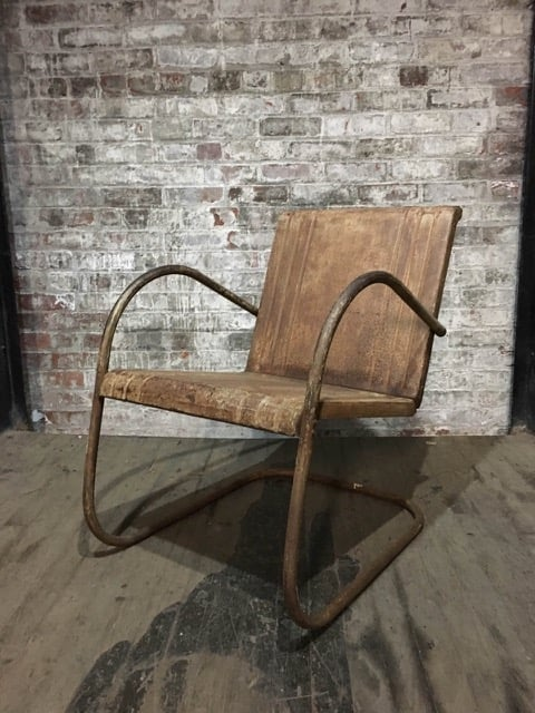 RSS Distressed Patio Chair $130