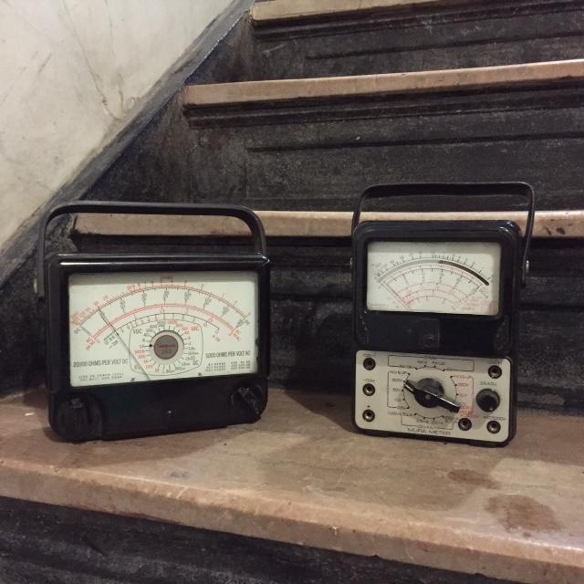 voltage meters $20/ea