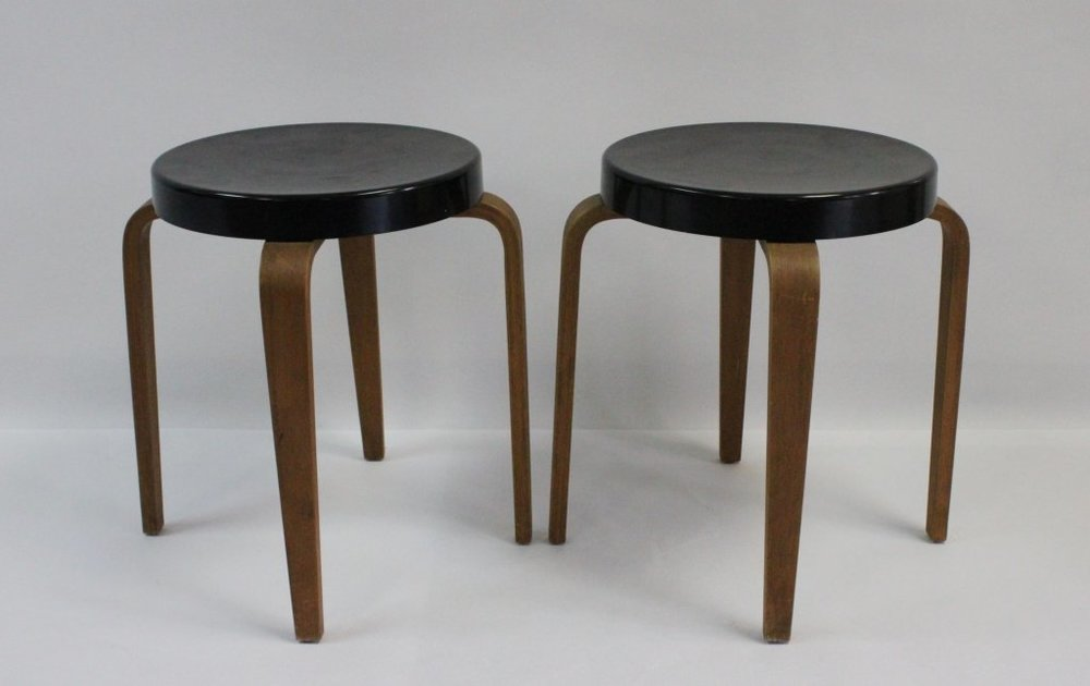 (2) RSS Thonet Stools $125/ea - $200 for pair