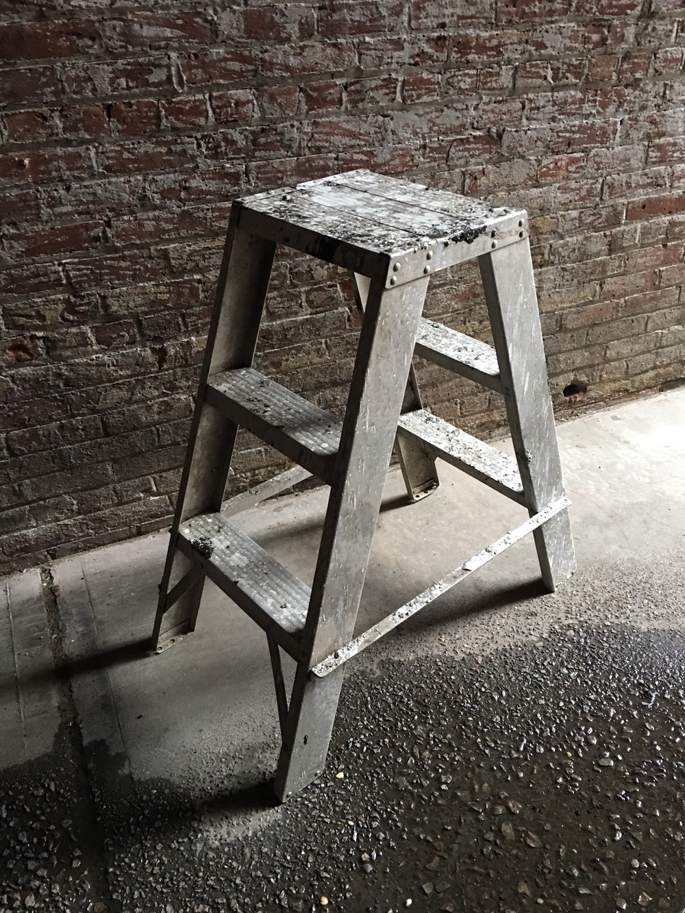 No-Fold beauty ladder